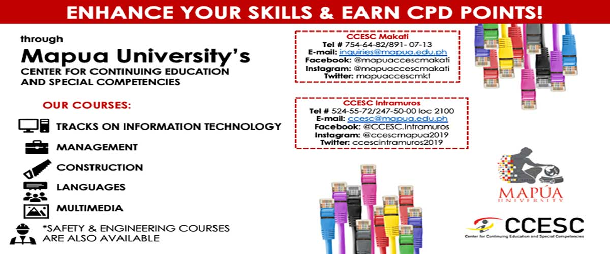 Center for Continuing Education and Special Competencies